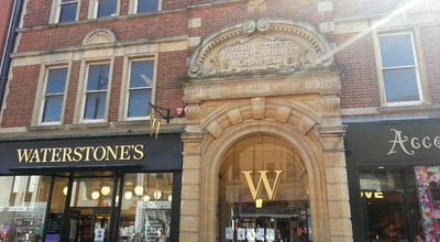 Photo of Bookstore Waterstones at United Reformed, Reading RG1 2AP, United Kingdom