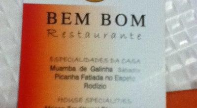 Photo of Mediterranean Restaurant Restaurante Bem Bom at Avenida Infante Sagres, 131, Quarteira 8125-156, Portugal