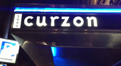 Photo of Indie Movie Theater Curzon Cinema at 99 Shaftesbury Ave, Soho W1D 5DY, United Kingdom