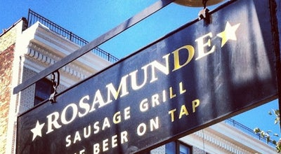 Photo of German Restaurant Rosamunde Sausage Grill at 285 Bedford Ave, Brooklyn, NY 11211, United States