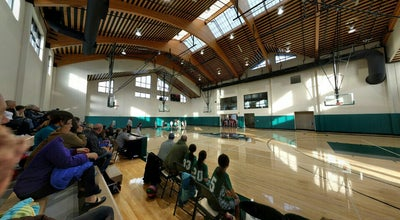 Photo of Basketball Court Pinewood School Gym at 3750 Fabian Way, Palo Alto, CA 94303, United States