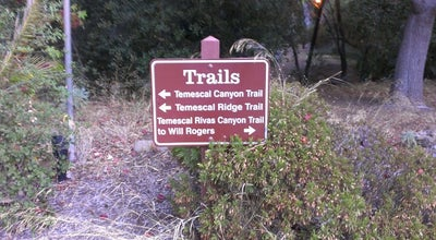 Photo of Trail Temescal Gateway Park at 15601 Sunset Boulevard, Los Angeles, CA 90270, United States