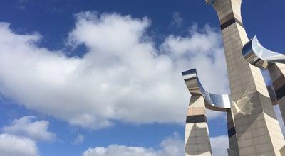 Photo of Sculpture Garden 새만금방조제 신시도 기념탑 at 조대한민국 전라북도 군산시 옥도면 신시도리 산4-73, 군산시 573-817, South Korea