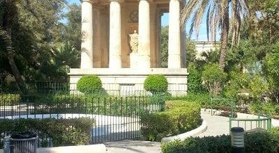 Photo of Botanical Garden Lower Barrakka Gardens at Valletta, Malta