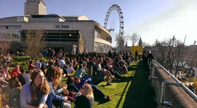 Photo of Beer Garden Southbank Centre Roof Garden, Café & Bar at Southbank Centre, South Bank SE1 8XX, United Kingdom