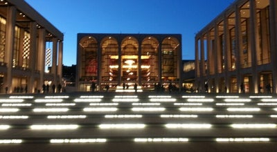 Photo of Performing Arts Venue Lincoln Center for the Performing Arts at 70 Lincoln Center Plz, New York, NY 10023, United States