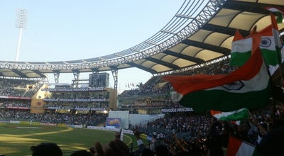 Photo of Cricket Ground Wankhede Stadium at Marine Drive, Mumbai 400020, India
