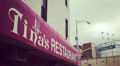 Photo of Restaurant Tina's Place Restaurant at 1002 Flushing Avenue, Brooklyn, NY 11206, United States