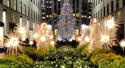 Photo of Arts and Entertainment Rockefeller Center Promenade at 30 Rockefeller Plz, New York, NY 10020, United States
