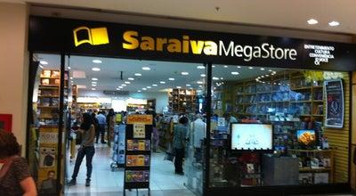 Photo of Bookstore Saraiva MegaStore at Botafogo Praia Shopping, Rio de Janeiro 22250-040, Brazil