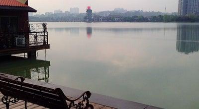 Photo of Lake 月湖公园 at 开福区万家丽路, 长沙, 湖南 410003, China