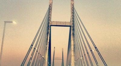 Photo of Bridge 鶴見つばさ橋 at 鶴見区 大黒ふ頭/扇島, 横浜市,神奈川県, Japan