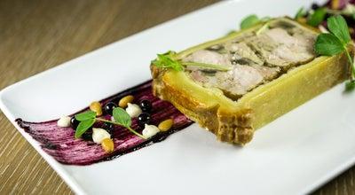 Photo of French Restaurant DB Bistro Moderne at 55 W 44th St, New York, NY 10036, United States