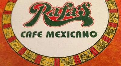 Photo of Mexican Restaurant Rafa's Cafe at 5617 W Lovers Ln, Dallas, TX 75209, United States