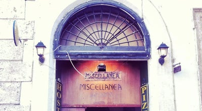 Photo of Italian Restaurant Miscellanea at Via Della Palombella, Rome, Italy