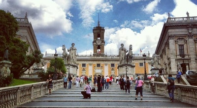 Photo of Historic Site Piazza del Campidoglio at Rome, Italy