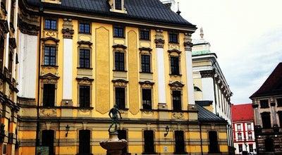 Photo of Plaza Plac Uniwersytecki at Pl. Uniwersytecki, Wrocław, Poland