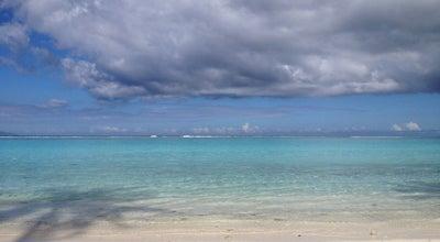 Photo of Beach Plage de Temae at Pointe De Temae, Temae, Moorea Island, French Polynesia