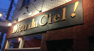 Photo of Nightclub Dieu du Ciel at 29 West Laurier Ave, Montreal, QC H2T 2N2, Canada