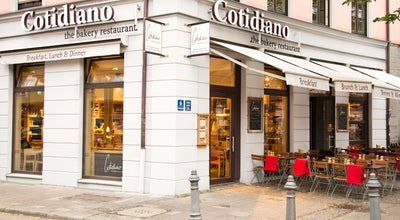 Photo of Mediterranean Restaurant Cotidiano at Gärtnerplatz 6, Munich 80469, Germany