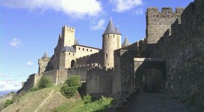 Photo of Historic Site Cité de Carcassonne at Cité Médiévale De Carcassonne, Carcassonne 11000, France
