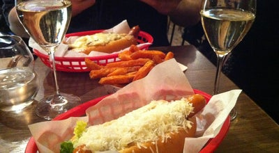 Photo of American Restaurant Bubbledogs at 70 Charlotte Street, London W1T 4QG, United Kingdom