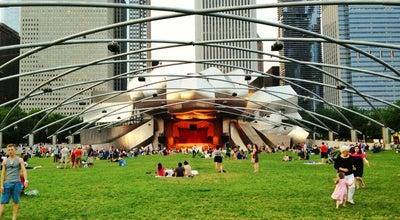 Photo of Performing Arts Venue Jay Pritzker Pavilion at Millennium Park, Chicago, IL 60602, United States