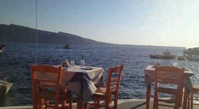Photo of Seafood Restaurant Taverna Katina at Ammoudi Port, Oia 847 02, Greece