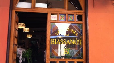 Photo of Italian Restaurant Dal Biassanot at Via Piella, 16/a, Bologna 40126, Italy