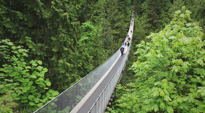Photo of Bridge Capilano Suspension Bridge at 3735 Capilano Road, Vancouver, BC V7R 4J1, Canada