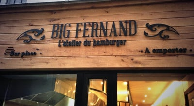 Photo of American Restaurant Big Fernand Montorgueil at 32 Rue Saint Sauveur, Paris 75002, France