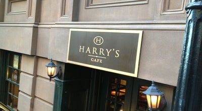 Photo of American Restaurant Harry's Cafe and Steak at 1 Hanover Sq., NYC, NY 10004, United States