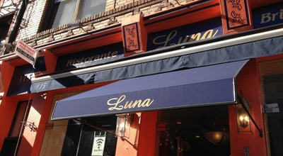 Photo of Italian Restaurant Luna Restaurant & Pizza at 115 Mulberry St, New York, NY 10013, United States