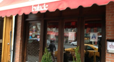 Photo of Middle Eastern Restaurant Balade at 208 1st Avenue, New York City, NY 10009, United States