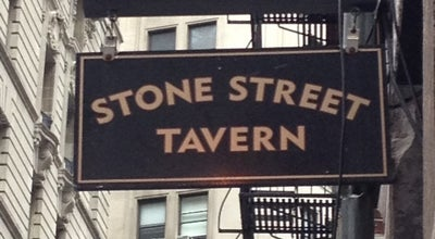 Photo of American Restaurant Stone Street Tavern at 52 Stone Street, New York, NY 10004, United States