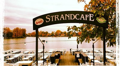 Photo of Austrian Restaurant Strandcafe at Florian-berndl-gasse 20, Vienna 1220, Austria