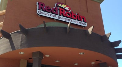 Photo of American Restaurant Red Robin Gourmet Burgers at 3906 Rivermark Plz, Santa Clara, CA 95054, United States