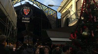 Photo of Market La Boqueria at Mallorca, 290, Barcelona 08037, Spain