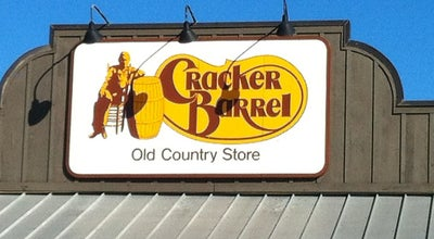 Photo of American Restaurant Cracker Barrel at 101 Taylor Dr, Gadsden, AL 35904, United States