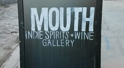 Photo of Liquor Store Mouth Indie Spirits + Wine Gallery at 192 Water St, Brooklyn, NY 11201, United States