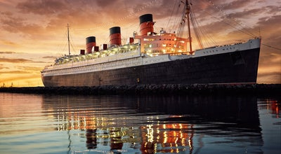 Photo of Monument / Landmark The Queen Mary at 1126 Queens Hwy, Long Beach, CA 90802, United States