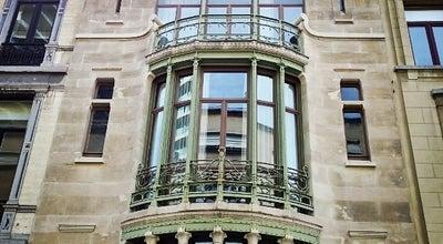 Photo of Monument / Landmark Hotel Tassel at Rue Paul Emile Janson 6, Brussels 1000, Belgium