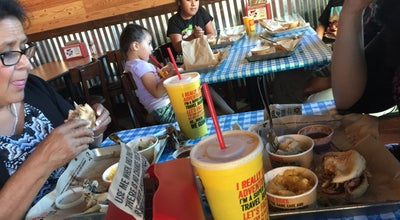 Photo of American Restaurant Dickey's BBQ Pit at 1125 W Rancho Vista Blvd, Palmdale, CA 93551, United States