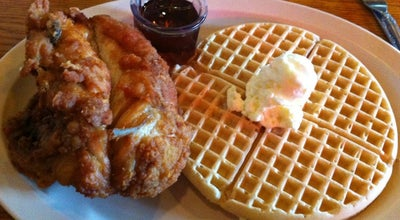 Photo of American Restaurant Roscoe's House of Chicken & Waffles at 1514 N Gower St, Los Angeles, CA 90028, United States