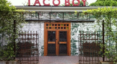 Photo of Mexican Restaurant Taco Boy at 217 Huger St, Charleston, SC 29403, United States