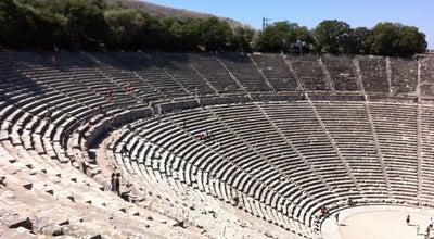 Photo of Historic Site Epidaurus Theater at Εθνική Οδός Ισθμου Αρχαιας Επιδαυρου, Epidavros 210 52, Greece