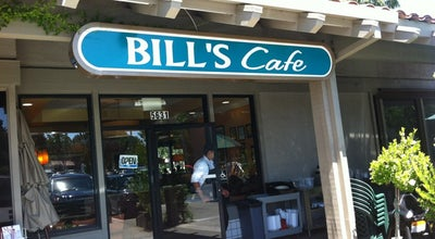 Photo of American Restaurant Bill's Cafe at 5629 Cottle Rd, San Jose, CA 95123, United States
