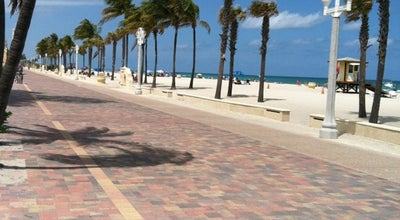 Photo of Beach Hollywood Beach at 101 N Ocean Dr, Hollywood, FL 33019, United States