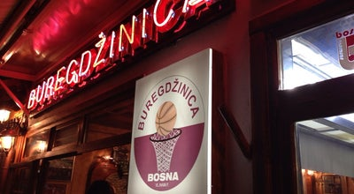 Photo of Fast Food Restaurant Buregdzinica Bosna at Bravadziluk, Sarajevo, Bosnia and Herzegovina
