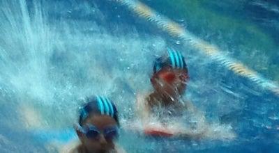 Photo of Water Park escuela de natación agua azul at Mexico
